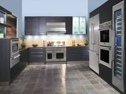 Dark Cabinets Light Countertops Tile Floors Kitchen Dark Cabinets Light Granite Electric Cars