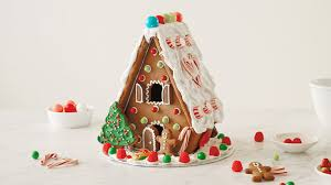 pattern for large gingerbread house how to make a gingerbread house hallmark ideas inspiration
