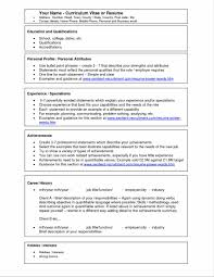 Best Resume Samples For Hr by Sample Doc Template Great Curriculum Vitae Amp Examples Resume