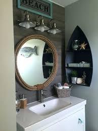 Beachy Bathroom Mirrors Sea Themed Bathroom Decor Best Nautical Bathrooms Ideas On