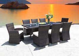 resin wicker dining tropicraft patio furniture