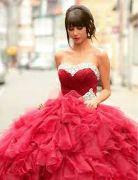 red ball gown wedding dresses red gothic wedding dress ball gown