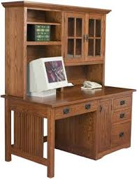 wood computer desk with hutch mission computer desk amish with hutch voicesofimani com