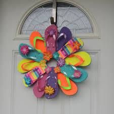 flip flop wreath best flip flop decor products on wanelo