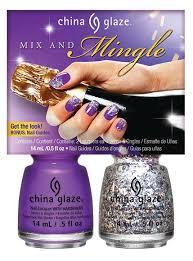 china glaze u0027cheers u0027 mix and mingle nail design kit china