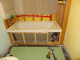 Corner Tub Bathroom Designs by Construct A Frame For Tub Deck Surround Google Search How 2