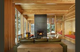 modern cabin interior lake wenatchee cabin modern living room seattle by theresa