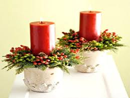 christmas centerpieces with candles amazing christmas table
