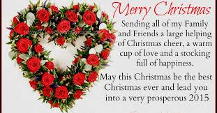 merry to all my friends and family wishes merry