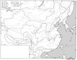 Blank Map Of East Asia by World Regional Outline Maps