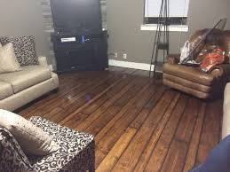 my hardwood floors diy sand stain 2x4 2x6 2x8 yellow