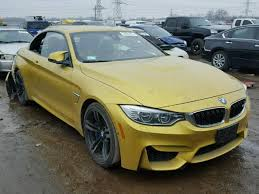 bmw car auctions 2016 bmw m4 photos salvage car auction copart usa