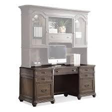 riverside belmeade executive desk riverside belmeade executive desk with optional hutch hayneedle