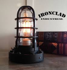 ideal retro industrial desk lamp or pendant by ironcladindustrial