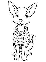 coloring pages chihuahua puppies chihuahua dog fashion show coloring pages netart