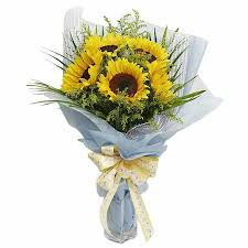 sunflower delivery sunflowers delivery indonesia fa4604 sunflowers bouquet