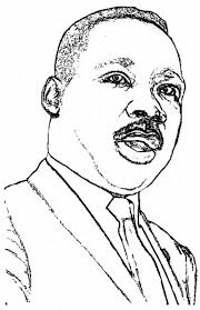 martin luther king coloring pages kids world