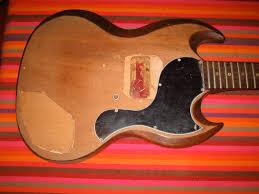 the guitar garage 1965 gibson sg junior pelham blue completed