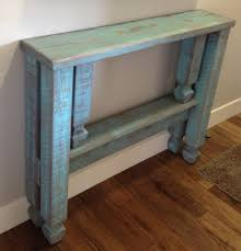Entrance Hall Table by Aged Stained Teak Hallway Table With Single Shelf With Thin Entry