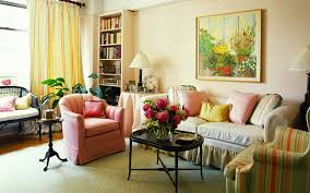 Armchair In Living Room Design Ideas Pink Armchairs And Cool Soft Grey Comfortable Fabric