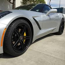 corvette wheels cray corvette wheels set brickyard multipiece matte black