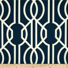 magnolia home fashions deco navy discount designer fabric