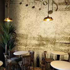 custom piano music room 3d wallpaper retro lounge cafe restaurant