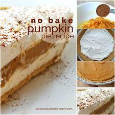no bake pumpkin pie recipe spaceships and laser beams