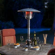 Table Top Gas Patio Heaters Sirocco Stainless Steel Table Top Gas Patio Heater Buy Now From