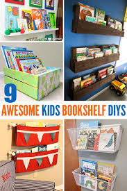 How To Build A Large Bookcase 9 Awesome Diy Kids Bookshelves Kid Bookshelves Playrooms And