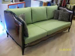 canape de repos l atelier créa lit de repos louis xv en canapé