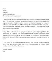 personal recommendation letters recommendation letter for a