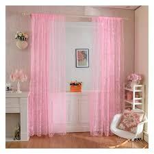 voilage fenetre chambre jiyaru rideau voilage motif papillon décoration fenêtre chambre 2