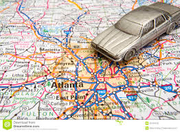 Driving Maps Driving In Atlanta Stock Image Image Of Georgia Auto 35164105
