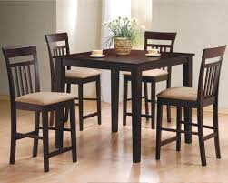 kitchen glamorous round tall kitchen table applying black color kitchen wonderful tall kitchen table with dinette set two cups also white flower decor on