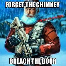 Santa Meme - operator santa the salty soldier facebook