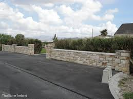 walls and patios examples thin stone ireland