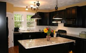 decor hypnotizing paint ideas for kitchens with dark cabinets
