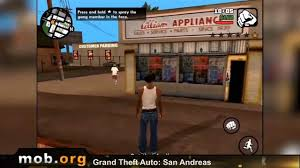 gta san andreas android review mob org - Android Mob Org