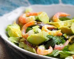 cuisiner des avocats recette salade avocat et crevettes