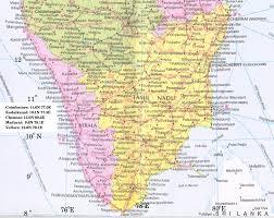 Tamil Nadu Map Southtipb Jpg