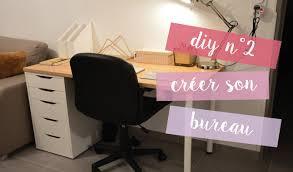 comment faire un bureau soi meme diy n 2 créer bureau