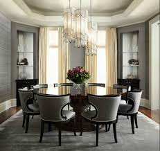 classy round dining table design ideas