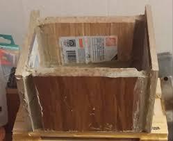 Hardwood Floor Samples Box Made From Wood Floor Samples 3 Steps