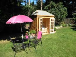 Gardens With Summer Houses - spalding sheds timber workshops playhouses lincolnshire sutton