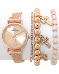 pink bracelet watches images On sale now 41 off womens hallmark rose gold watch bracelet