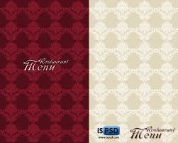 Designs Of Menu Card Restaurant Menu Card Psd