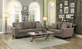Grey Sofas In Living Room Amazon Com Homelegance 8413gy 3 Fully Upholstered With Piping