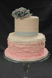 Shabby Chic Baby Shower Cakes by Cake Catch Up