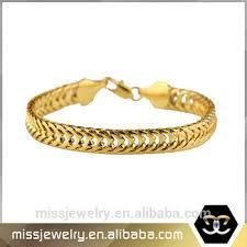 bracelet clasp designs images Hip hop pvd plated lobster clasp 18k italian gold bracelet designs jpg